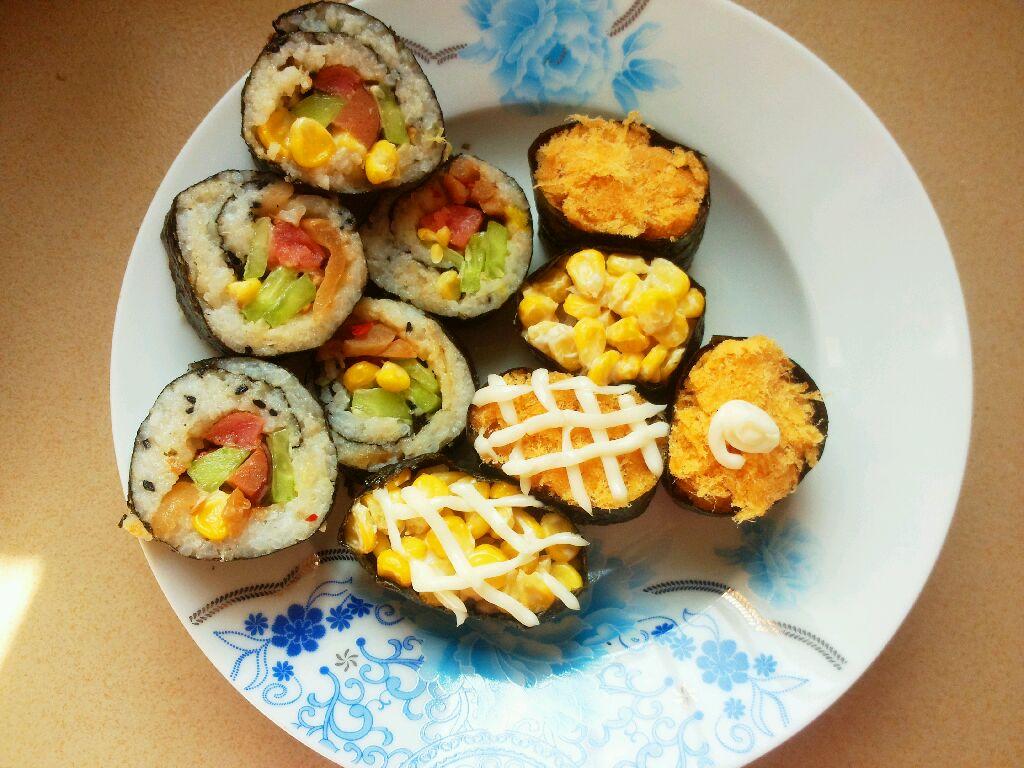 花样寿司的做法_【图解】花样寿司怎么做如何做好吃