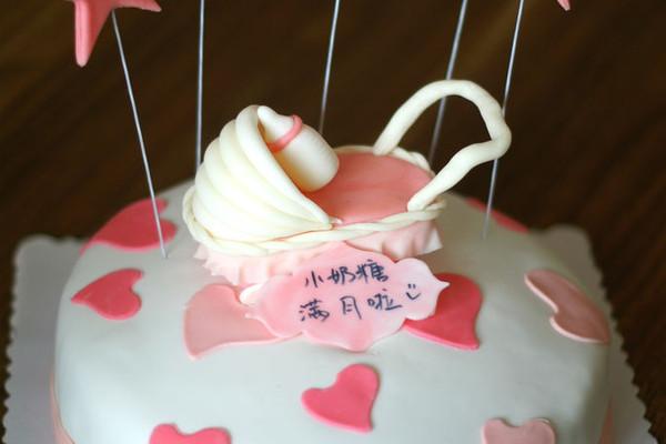 婴儿车翻糖蛋糕的做法_【图解】婴儿车翻糖蛋糕怎么做