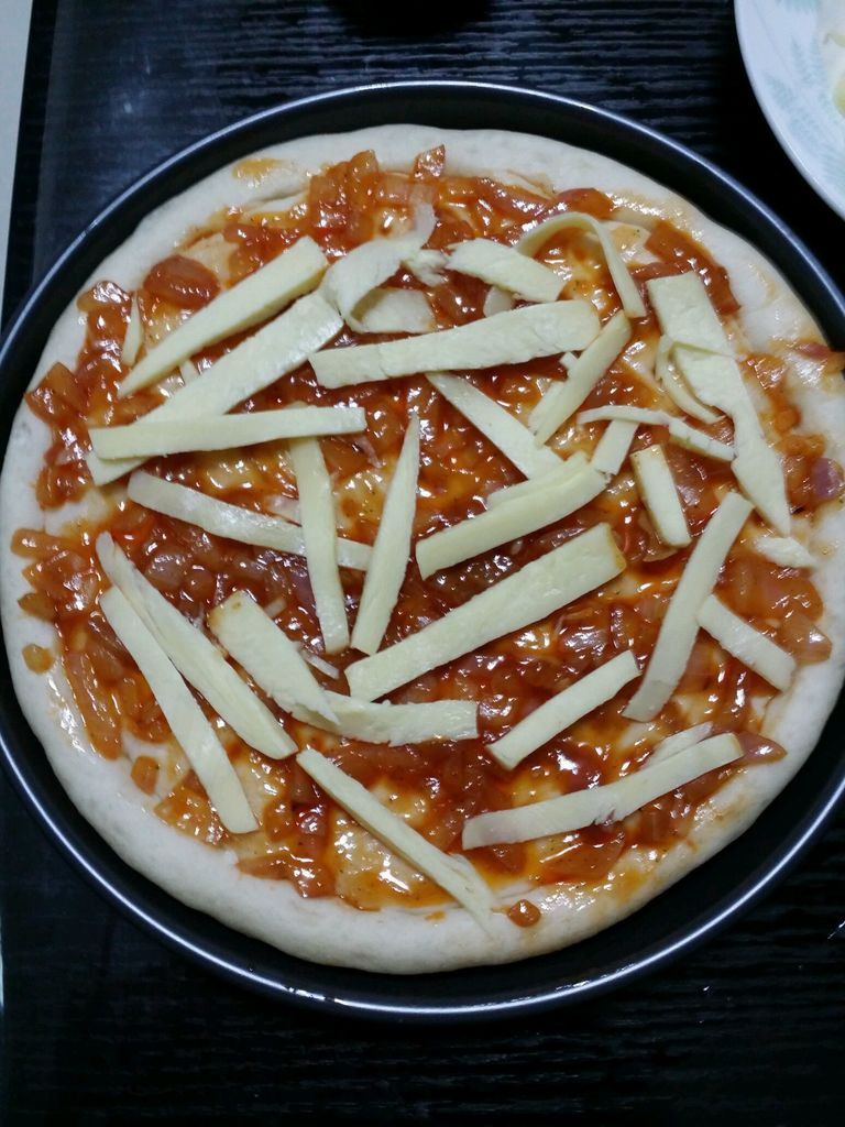虾披萨的做法大全图解