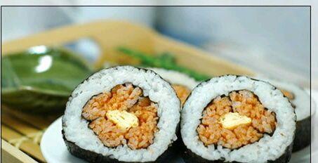 梅花寿司的做法图解4