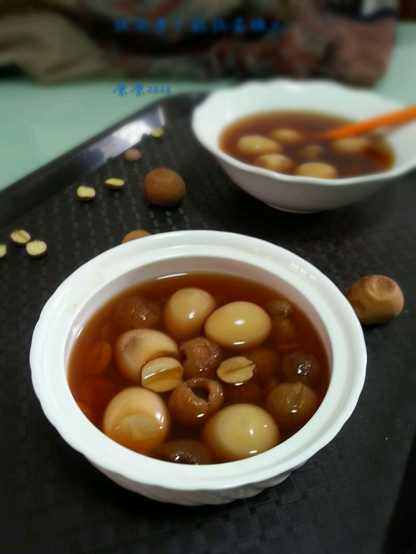 糖水莲子菜谱蛋鹌鹑桂圆学生夏季小学生食堂图片