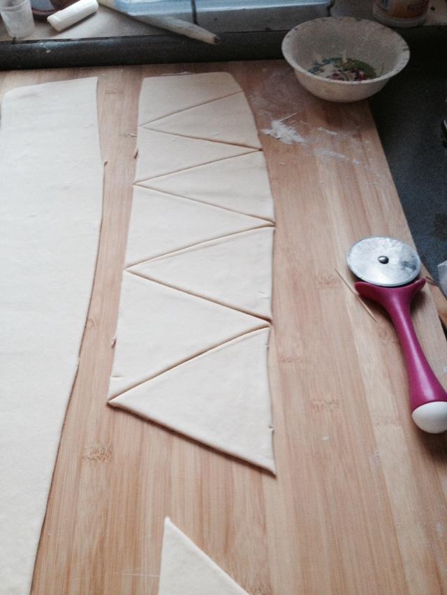 丹麦牛角包的做法图解6