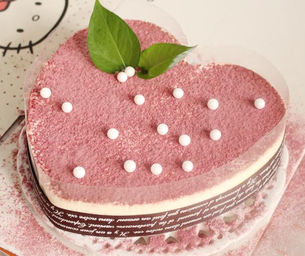 心形慕斯蛋糕的做法_【图解】心形慕斯蛋糕怎么做如何