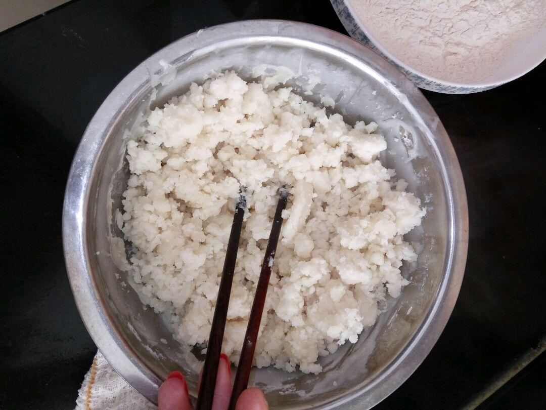 冰皮豆沙月饼的做法图解4