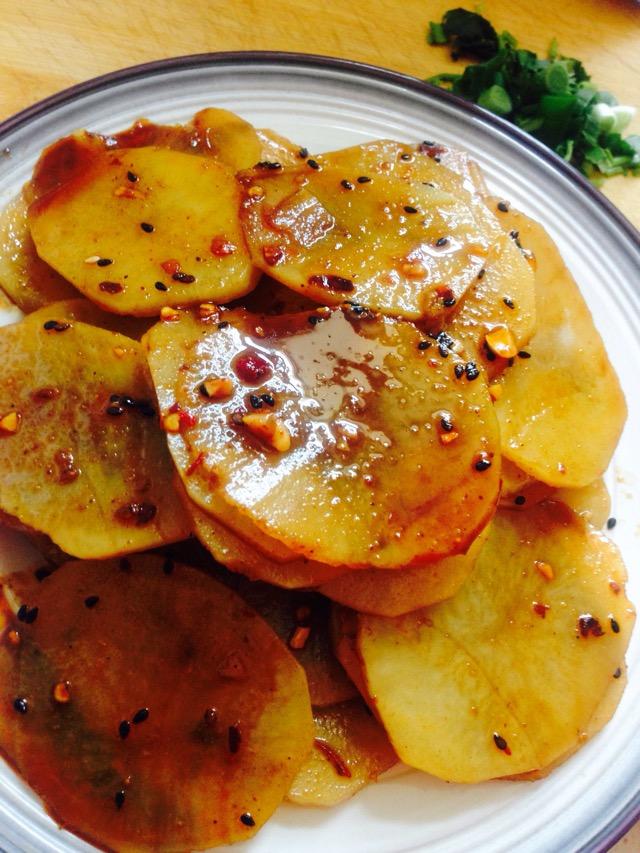 红烧土豆片饭