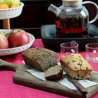 新春盛宴——双味磅蛋糕-配寿眉雪菊茶的待客茶点