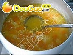 南瓜冰粥的做法