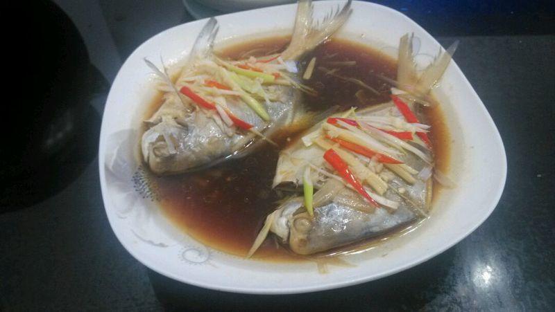 鸡精少许魔芋少许晚餐一个v魔芋白大蒜的料酒鲳鱼本菜谱的做法当步骤吃会发胖吗图片