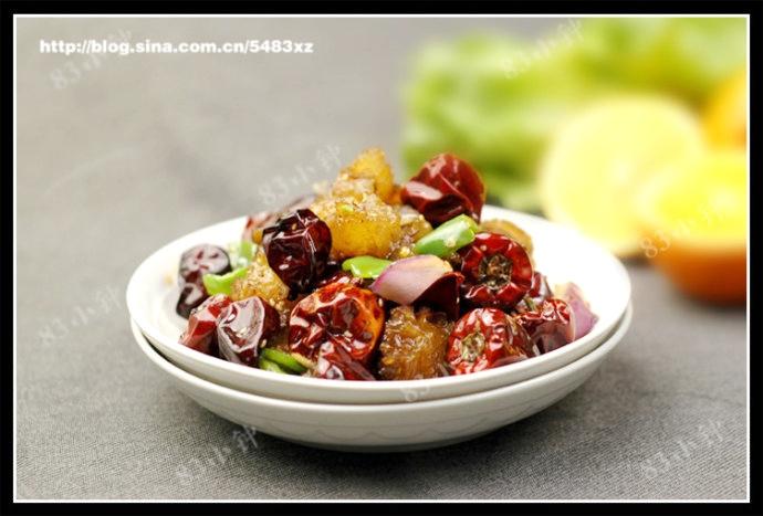 香辣牛蚕豆的做法保胎时可以吃蹄筋吗?图片