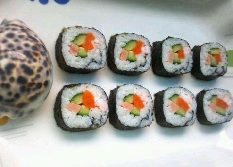 海螺寿司卷的做法_【图解】海螺寿司卷怎么做如何做