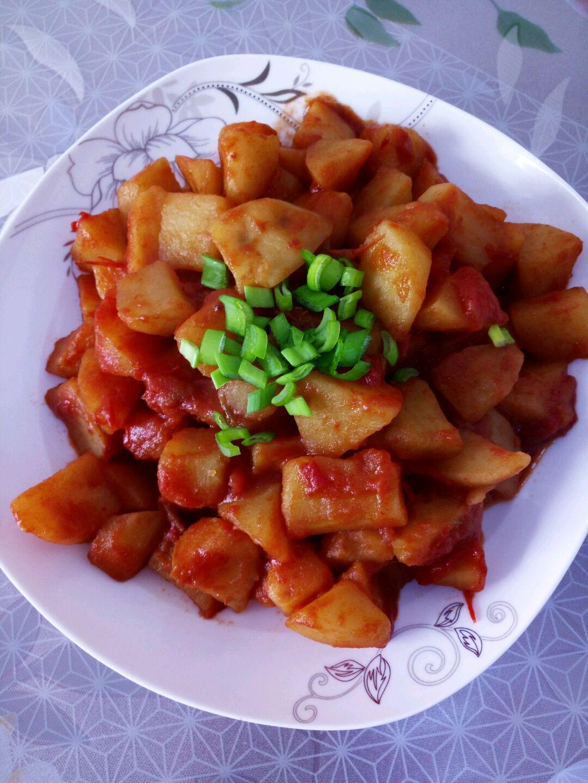 番茄土豆的做法圖解2