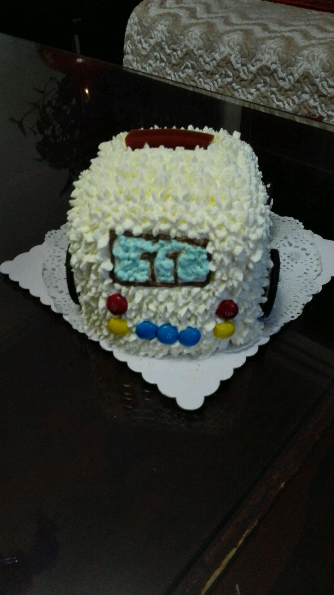 小警车蛋糕的做法图解3