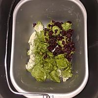 中种法   抹茶蔓越梅蜂蜜吐司的做法图解5