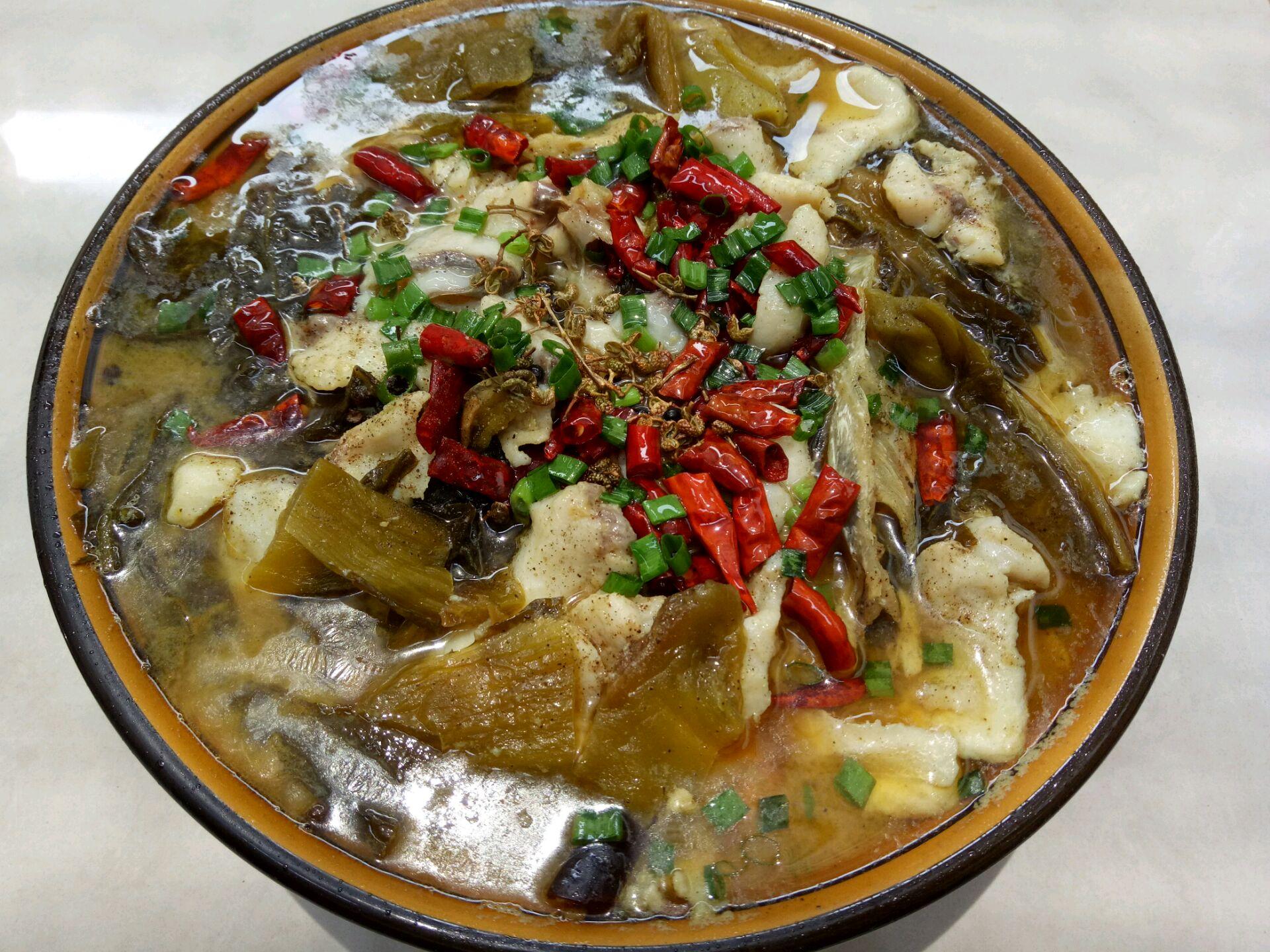 麻辣酸菜鱼的做法图解4
