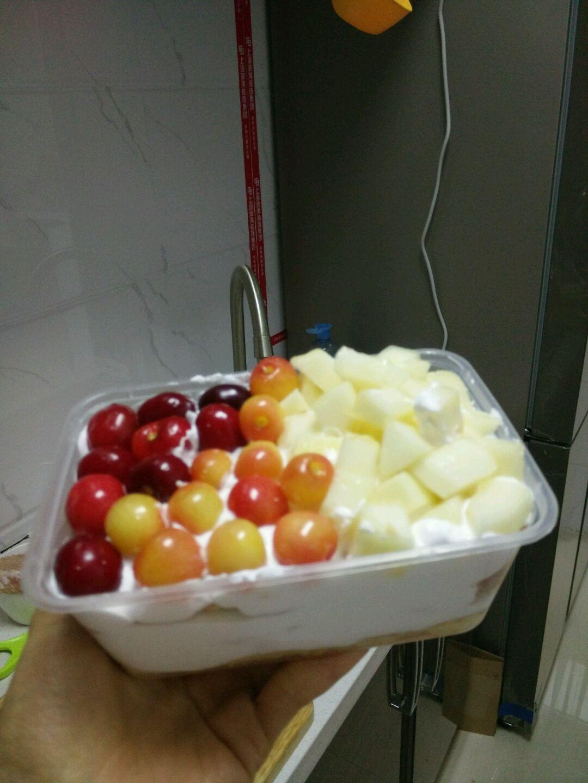 水果盒子蛋糕的做法图解3
