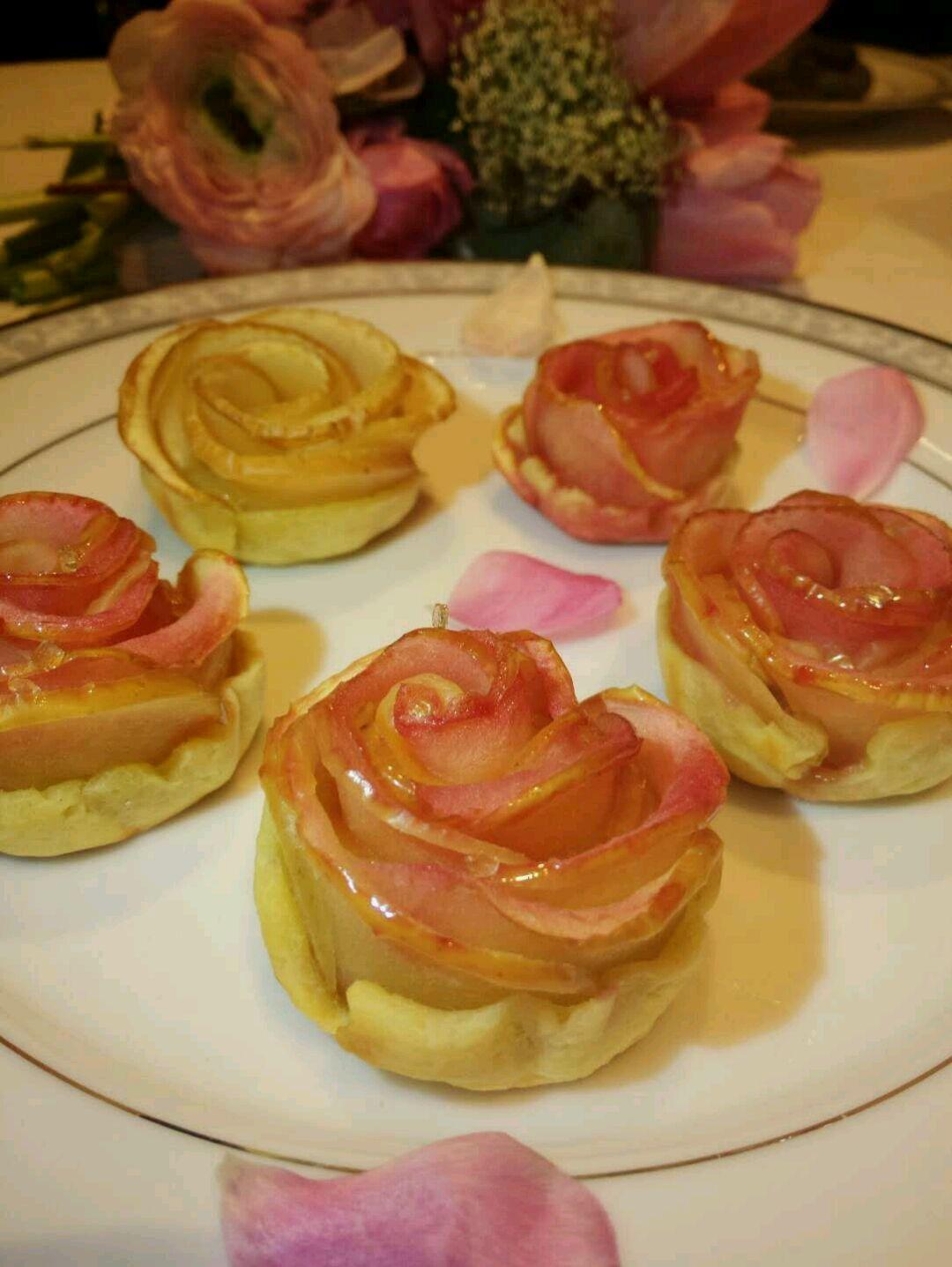 苹果玫瑰花的做法图解2