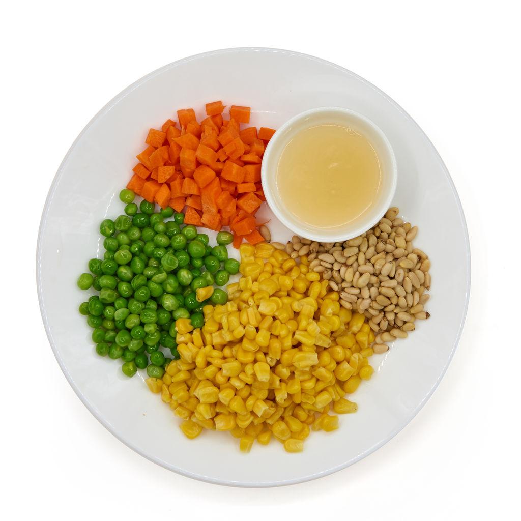 松仁玉米粒