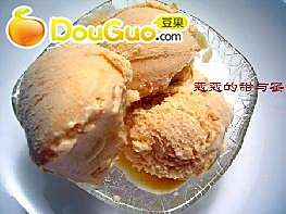 木瓜百利甜酒冰淇淋的做法