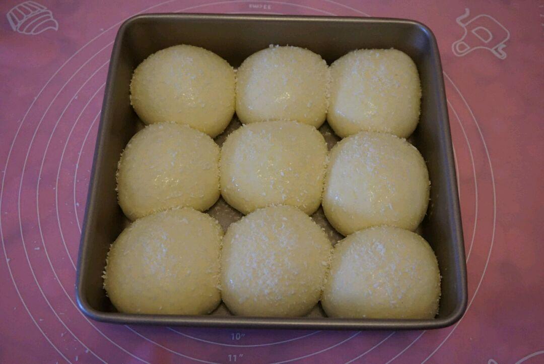 酸奶豆沙小面包的做法图解8