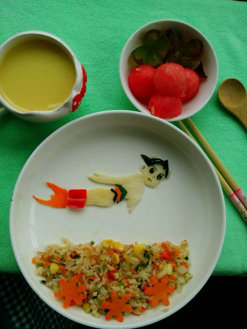 宝宝辅食之创意餐图片