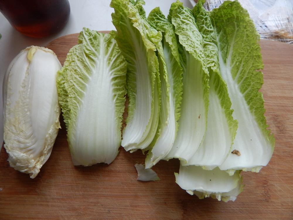 白菜炖藕饼的做法步骤