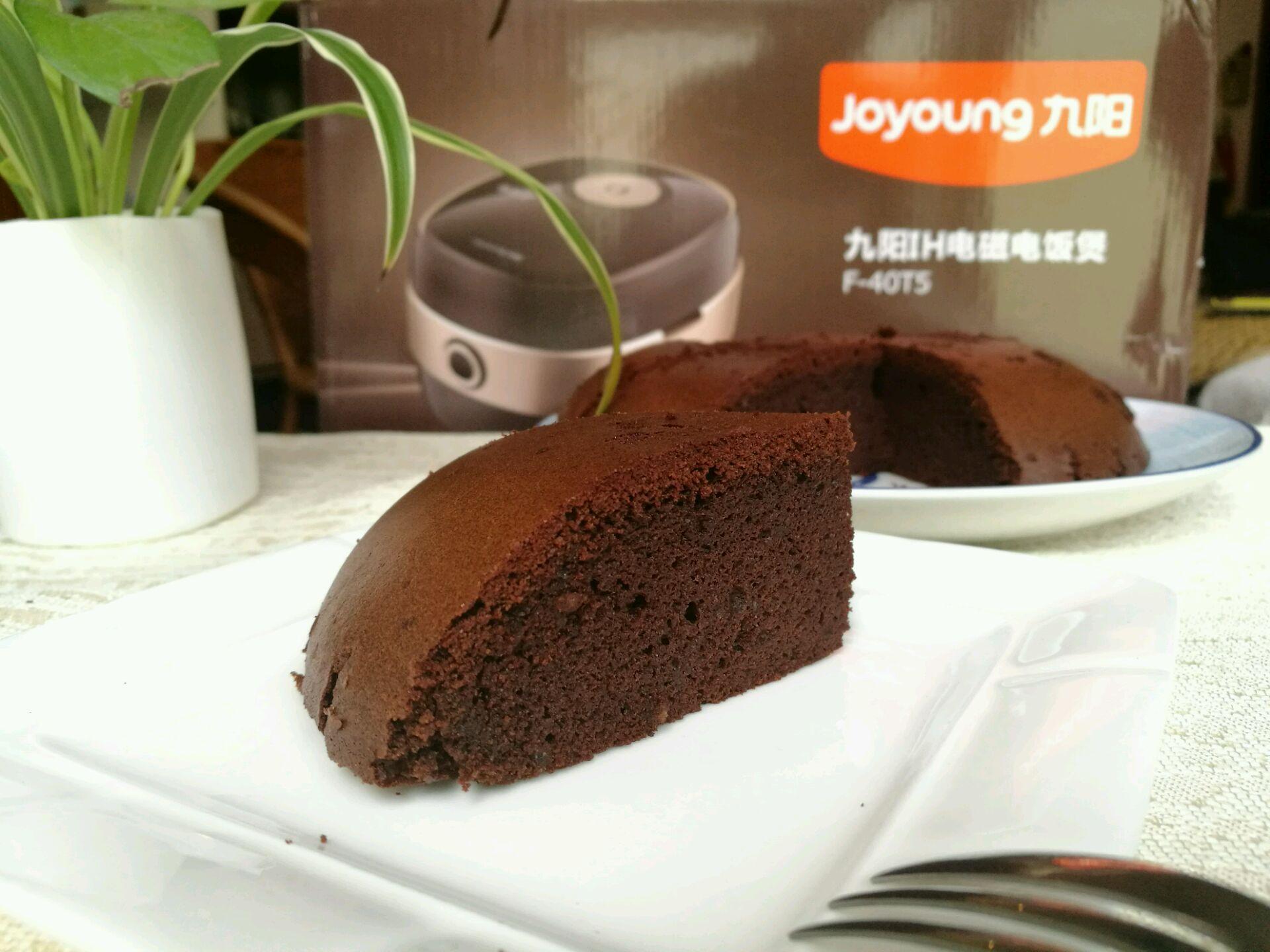 巧克力海绵蛋糕#九阳铁釜3