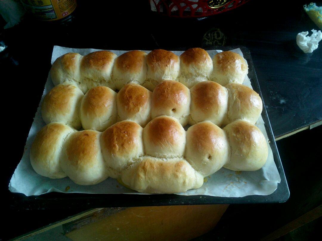 土司~面包(简单版本)烤箱的做法图解6