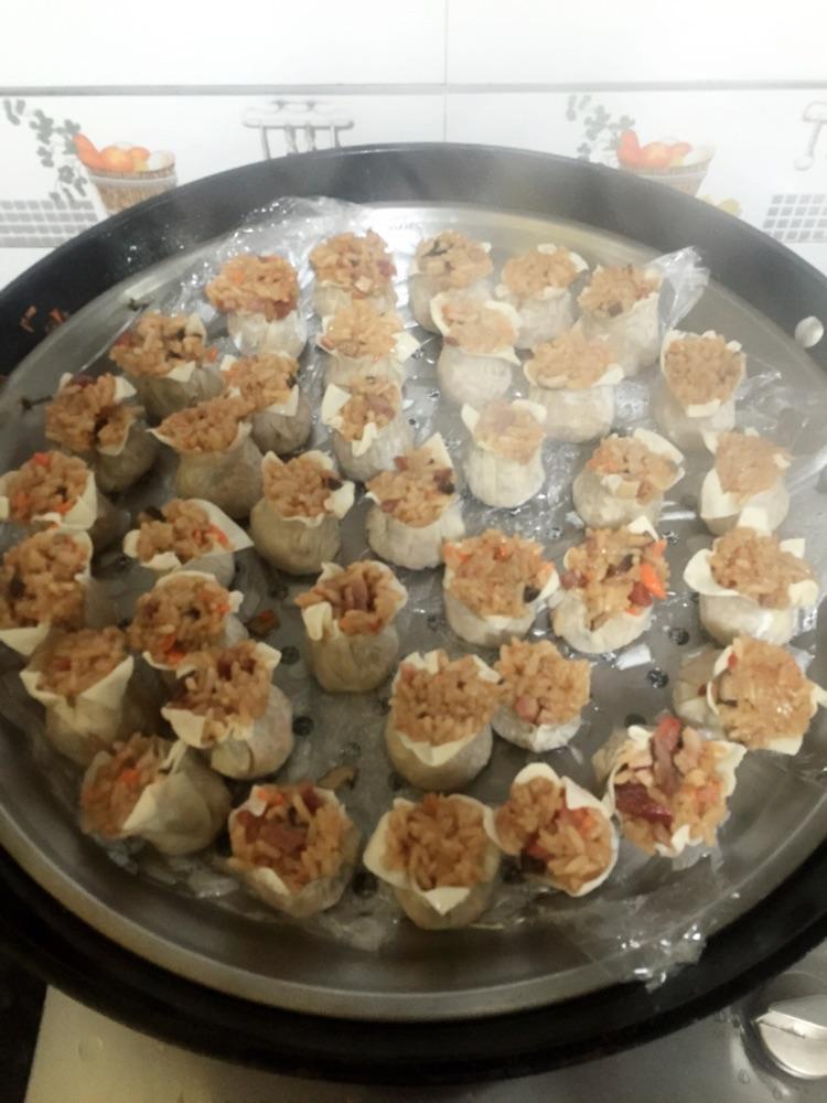 叉烧香菇烧麦的做法图解8
