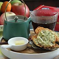 新春盛宴——【葱香培根奶酪咸味司康——配红茶的待客点心】