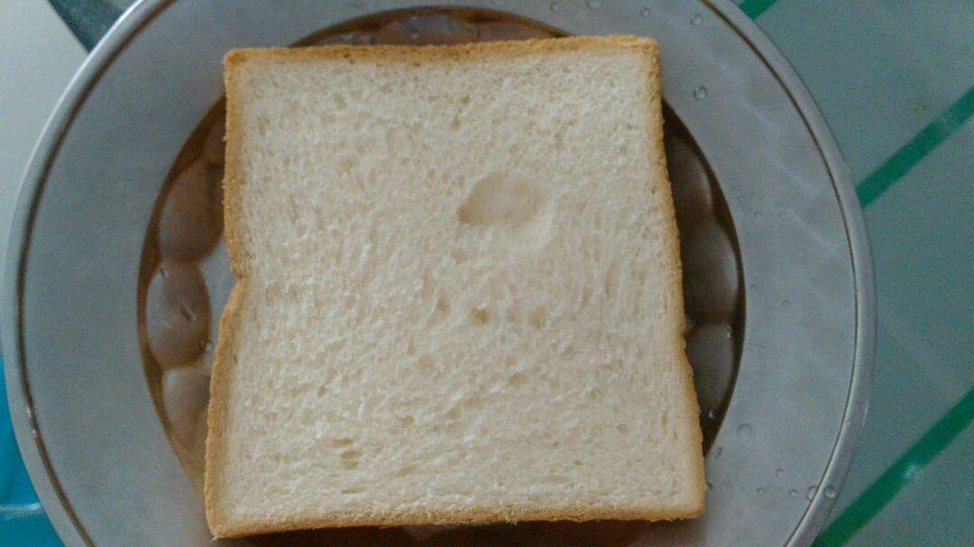 炼奶鸡蛋面包片的做法步骤