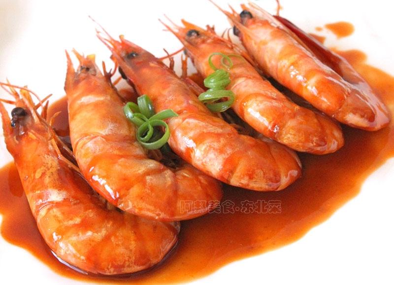 时间:10分左右       主料 大虾适量 葱2段 姜姜丝 辅料   盐半勺 糖图片