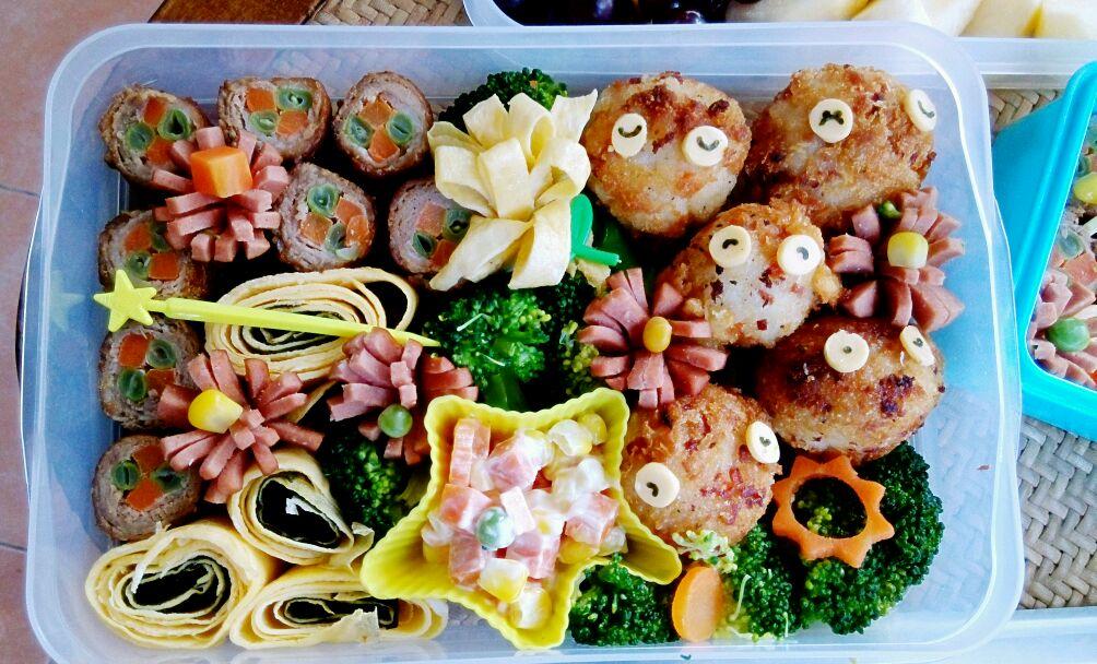 秋游便当的做法_【图解】秋游便当怎么做如何做好吃