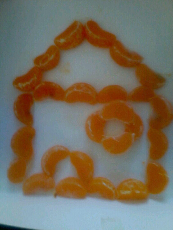 橘子拼盘图片
