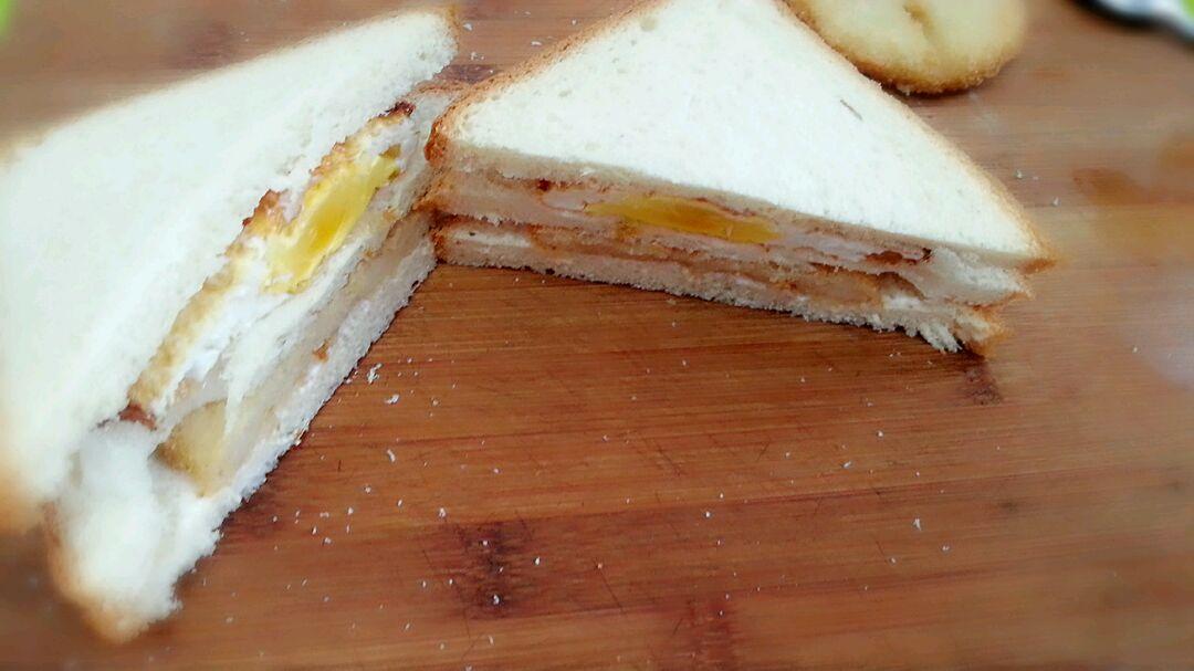 快速三明治的做法步骤