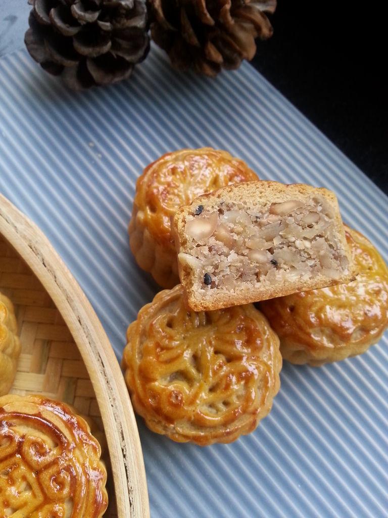 中式糕点-五仁点心图片