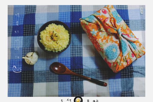 虾仁蛋花焖饭的做法_【图解】虾仁蛋花焖饭怎