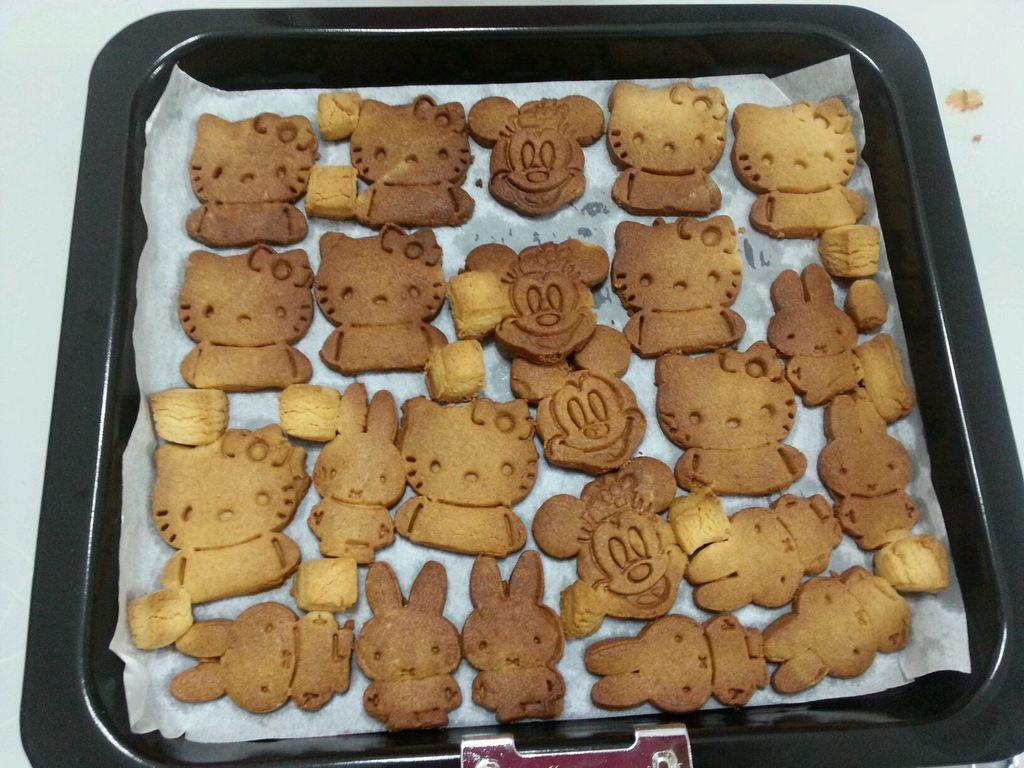 长帝ckf-30gu烤箱版模具饼干的做法