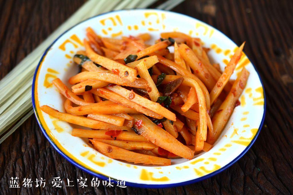 红油酸笋的做法_【图解】红油酸笋怎么做如何做好吃
