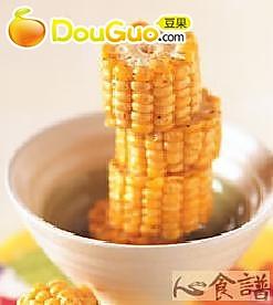 油炸甜玉米的做法