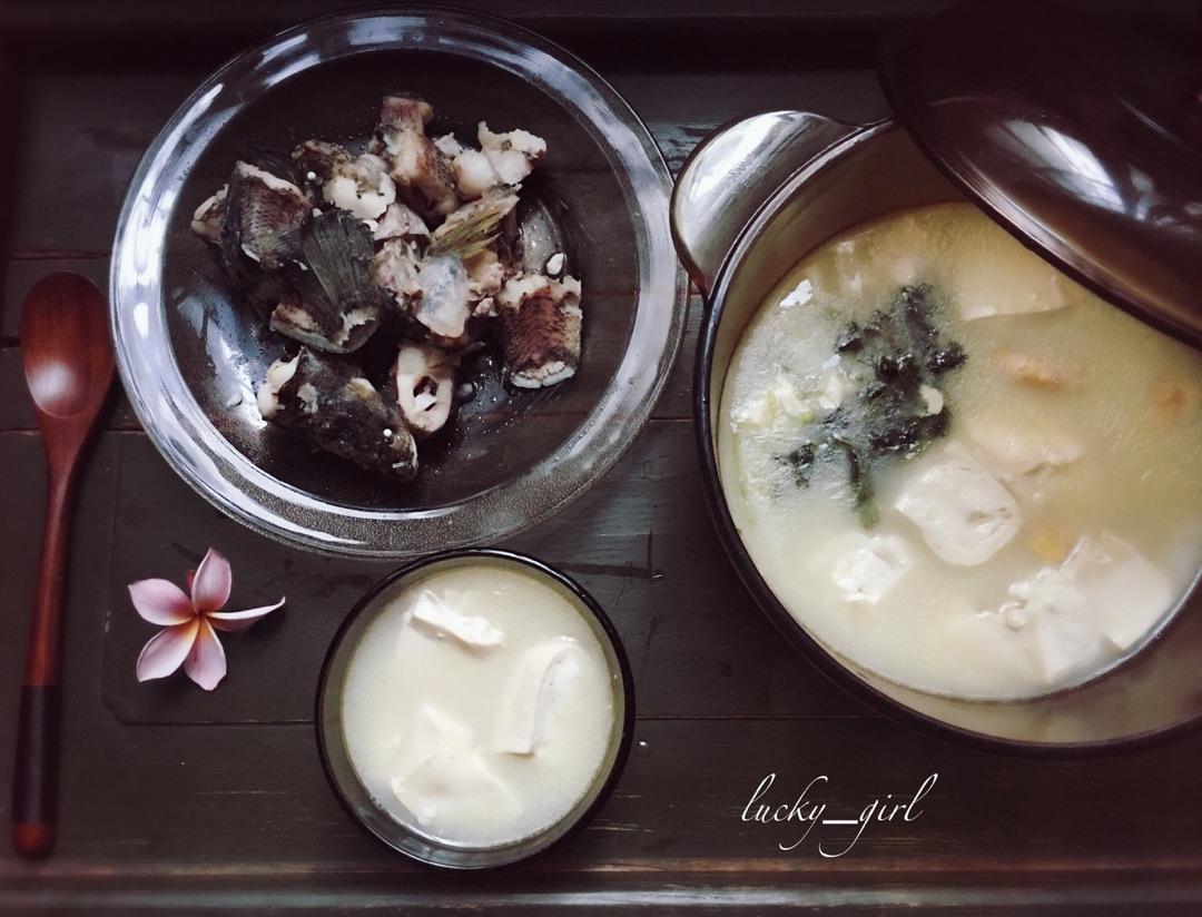 黑鱼豆腐滋补汤的做法步骤