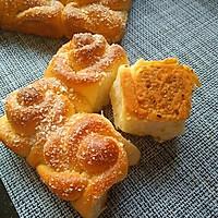 玫瑰花椰蓉面包的做法图解13