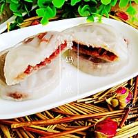 【豆沙晶饼】——弹性嚼劲,有香甜,简单速成的早餐吃什么,早餐食谱大全,营养早餐,减肥早餐或者餐间小点的做法图解8