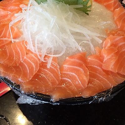 三文鱼刺身的做法_【图解】三文鱼刺身怎么做好吃
