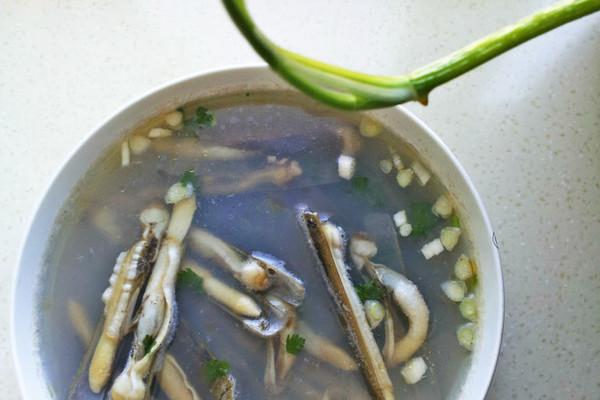 是一种有益于人体健康的食疗佳品而受到人们欢迎(收起) 主料 竹蛏适量