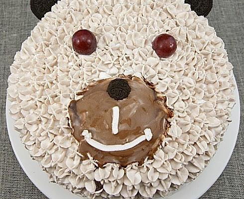小熊生日蛋糕的做法