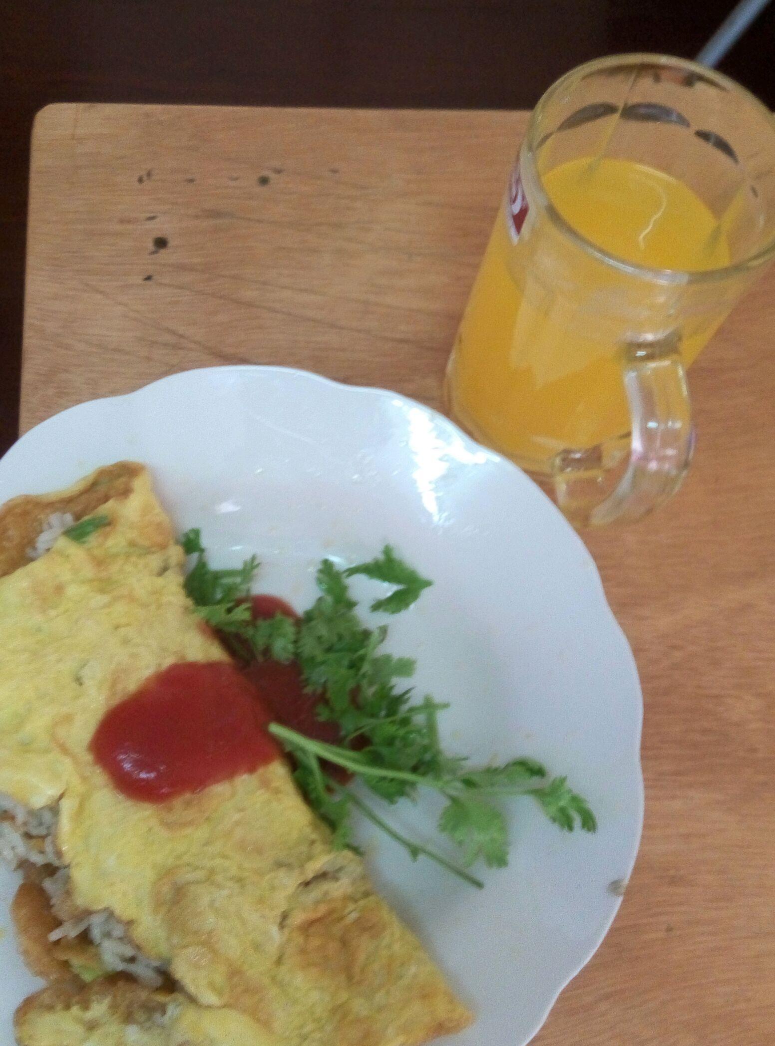 简单美味蛋包饭的做法图解5