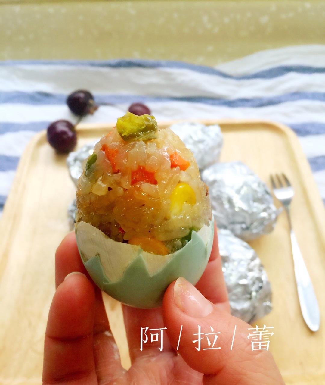 糯米蛋的做法