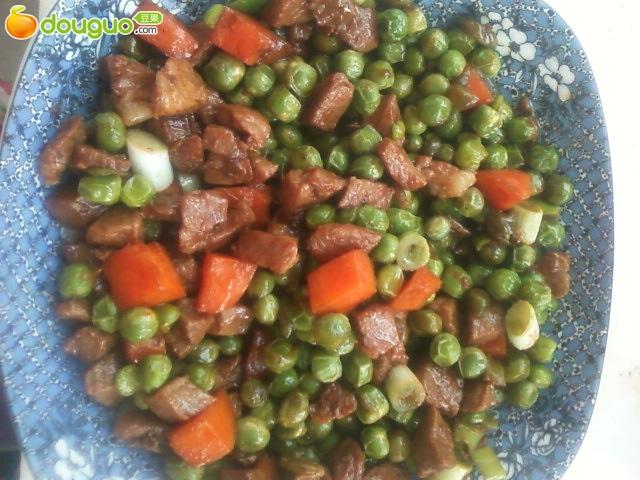 豌豆炒肉的做法_【图解】豌豆炒肉怎么做如何做好吃