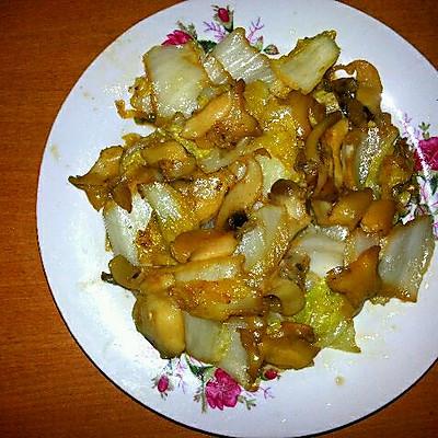 海螺片炒白菜