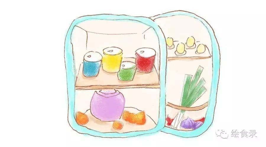 【手绘食谱】紫苏桃子姜
